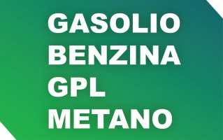 Carburanti. Gasolio, benzina, GPL, metano